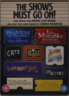 Musical: The Show Must Go On! Iconic Musicals From Andrew Lloyd Webber, 12 DVDs