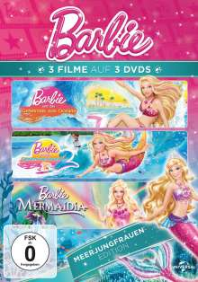 Barbie: Meerjungfrauen Edition, 3 DVDs