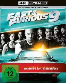 Fast & Furious 9 - Die Fast & Furious Saga (Ultra HD Blu-ray & Blu-ray im Steelbook), 1 Ultra HD Blu-ray und 1 Blu-ray Disc
