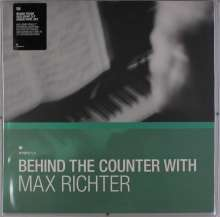 Max Richter (geb. 1966): Behind The Counter With Max Richter (Limited-Edition) (Green Vinyl), 3 LPs und 1 Single 7""