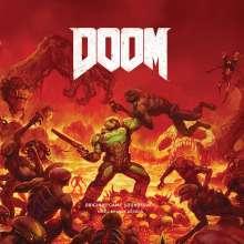 Mick Gordon: Filmmusik: Doom (Original Game Soundtrack) (180g) (Limited Edition) (Red Vinyl), 2 LPs