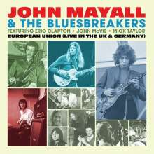 John Mayall: European Union (Live in the UK & Germany) (180g) (Limited Edition) (Light Blue Vinyl), LP