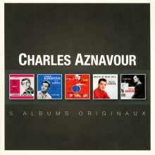 Charles Aznavour (1924-2018): Original Album Series, 5 CDs