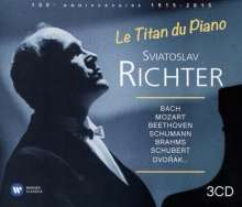 Svjatoslav Richter - Le Titan du Piano, 3 CDs