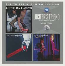 Lucifer's Friend: The Triple Album Collection, 3 CDs