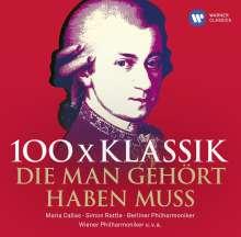 100x Klassik - die man gehört haben muss, 6 CDs