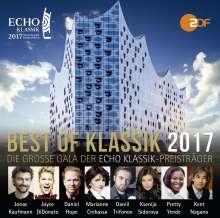 Best of Klassik 2017 - Die Echo Klassik Preisträger, 2 CDs