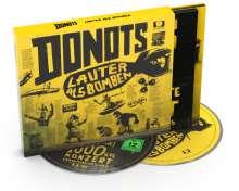 Donots: Lauter als Bomben (Limited-Deluxe-Edition), 1 CD und 1 DVD