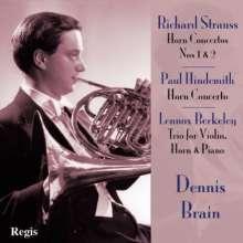 Richard Strauss (1864-1949): Hornkonzerte Nr.1 & 2, CD