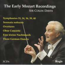 Colin Davis - The Early Mozart Recordings, 3 CDs