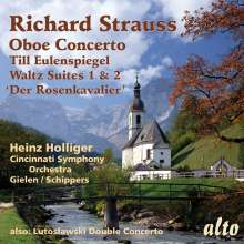 Richard Strauss (1864-1949): Oboenkonzert, CD