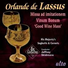 Orlando di Lasso (Lassus) (1532-1594): Missa ad imitationem moduli vinum bonum, CD