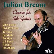Julian Bream -  Music for Solo Guitar, CD