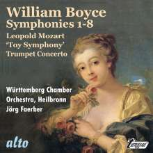 William Boyce (1711-1779): Symphonien op.2 Nr.1-8, CD