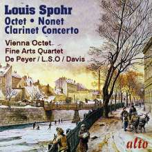 Louis Spohr (1784-1859): Klarinettenkonzerte Nr.1, CD