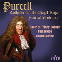 Henry Purcell (1659-1695): Anthems for the Chapel Royal, CD