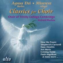 Trinity College Choir - Classics for Choir, CD