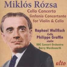 Miklos Rozsa (1907-1995): Cellokonzert op.32, CD