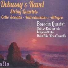 Claude Debussy (1862-1918): Streichquartett g-moll op.10, CD