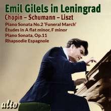 Emil Gilels in Leningrad, CD