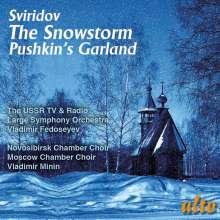 Georgi Sviridov (1915-1998): Schneesturm für großes Orchester, CD