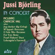 Jussi Björling in Concert, CD
