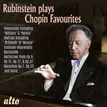 Arthur Rubinstein plays Chopin Favourites, CD