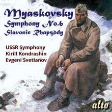 Nikolai Miaskowsky (1881-1950): Symphonie Nr.6, CD