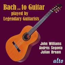 Bach to Guitar, CD