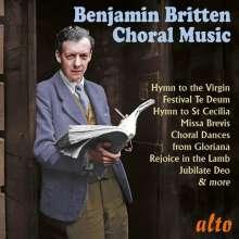 Benjamin Britten (1913-1976): Geistliche Chorwerke, CD