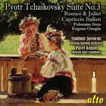 Peter Iljitsch Tschaikowsky (1840-1893): Suite Nr.3, CD