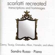 Sandro Russo - Scarlatti recreated, CD