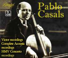 Pablo Casals - Vintage Collection, 5 CDs