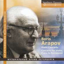 Boris Arapov (1905-1992): Violinkonzert, CD