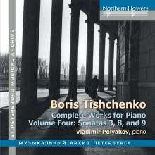 Boris Tischtschenko (1939-2010): Sämtliche Klavierwerke Vol.4, CD