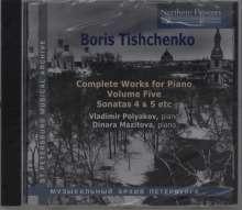 Boris Tischtschenko (1939-2010): Sämtliche Klavierwerke Vol.5, CD