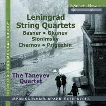 Taneyev Quartet - Leningrad String Quartets, CD