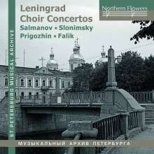 Leningrad Choir Concertos, CD
