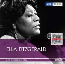 Ella Fitzgerald (1917-1996): Live In Cologne 1974, CD