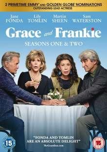Grace and Frankie Season 1 & 2 (UK Import), 4 DVDs
