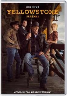 Yellowstone Season 2 (UK Import), 4 DVDs