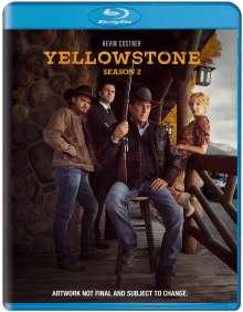 Yellowstone Season 2 (Blu-ray) (UK Import), 3 Blu-ray Discs