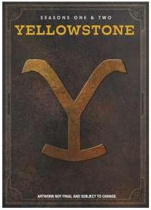 Yellowstone Season 1 & 2 (UK Import), 8 DVDs