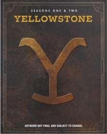 Yellowstone Season 1 & 2 (Blu-ray) (UK Import), 6 Blu-ray Discs