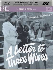 A Letter To Three Wives (Blu-ray & DVD) (UK-Import), 1 Blu-ray Disc und 1 DVD