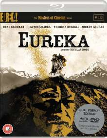 Eureka (1983) (Blu-ray & DVD) (UK-Import), 1 Blu-ray Disc und 1 DVD