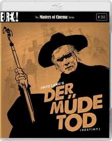 Der müde Tod (Blu-ray & DVD) (UK-Import mit deutscher Tonspur), 1 Blu-ray Disc und 1 DVD