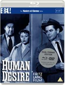 Human Desire (1954) (Blu-ray & DVD) (UK Import), 1 Blu-ray Disc und 1 DVD
