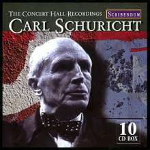 Carl Schuricht - The Concert Hall Recordings, 10 CDs