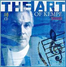 Rudolf Kempe - The Art of Kempe, 10 CDs